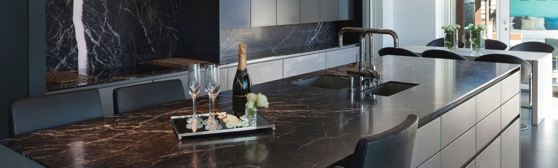 Klassische Marmor Küchenarbeitsplatten