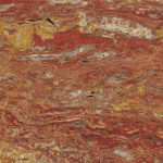 Travertin Rosso